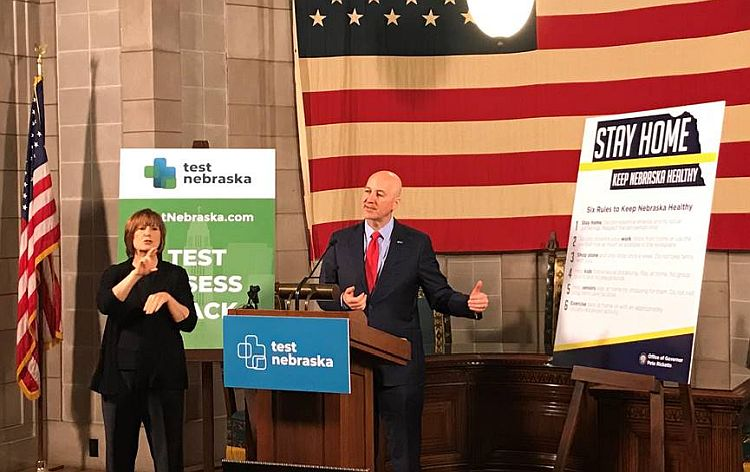 Gov. Ricketts Announces Relaxed Health Measures in Three More Regions, Affirms Plan for Nebraskans with Developmental Disabilities