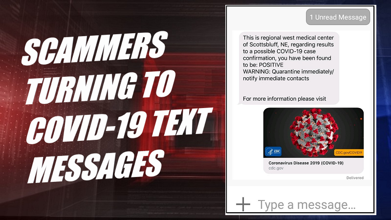 New Reports say Scammers Turning to Official-Looking COVID-19 Text Messages
