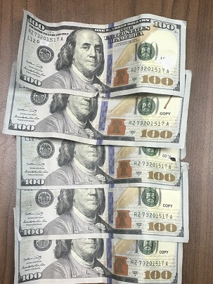Bancroft Woman arrested for allegedly possessing fake money