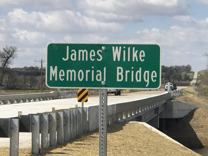 James Wilke Bridge to Reopen after Flooding