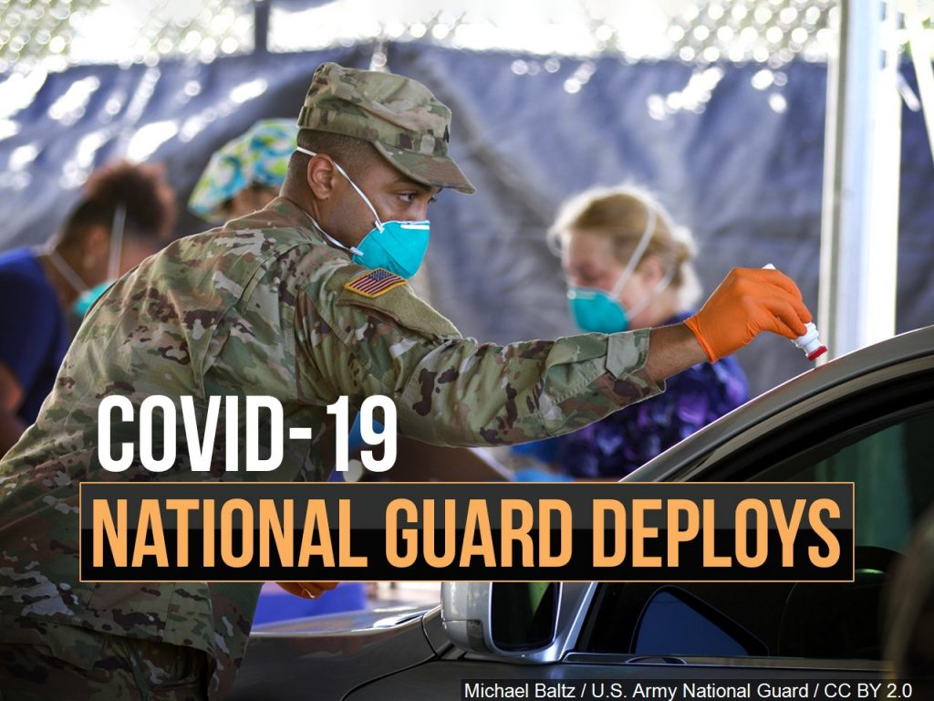 National Guard to Conduct COVID-19 Testing in Kimball County on Thursday