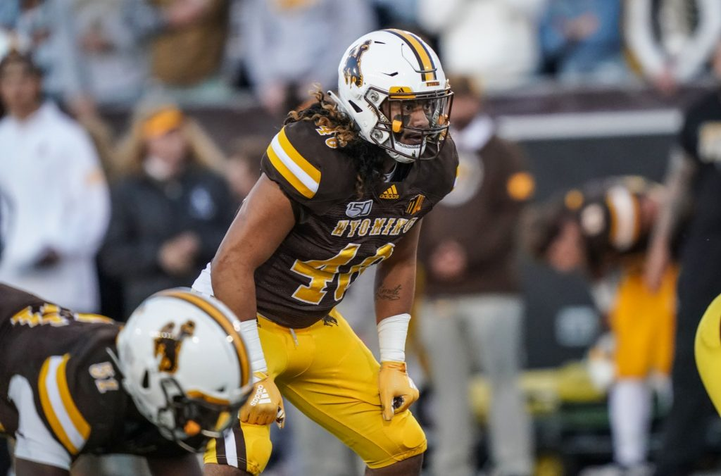 Patriots pick Wyoming's Maluia in sixth round