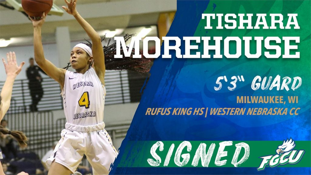WNCC's Morehouse signs with Division One Florida Gulf Coast