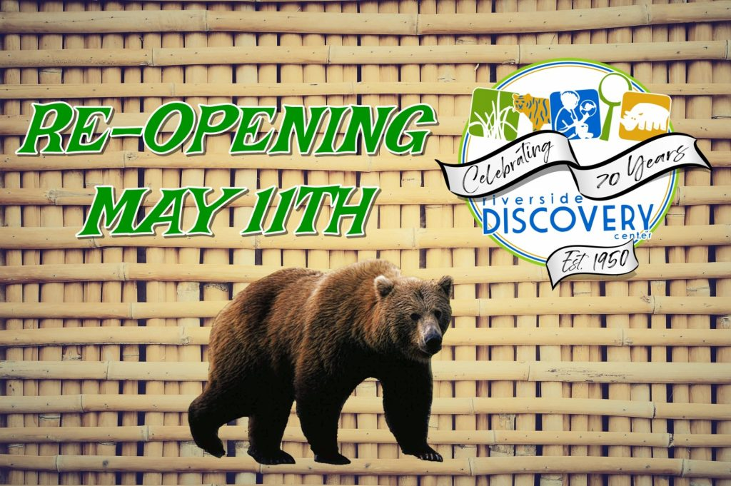 Riverside Discovery Center Zoo Will Reopen To The Public May 11th