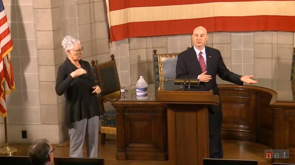 Video Highlights from Gov. Ricketts Thursday Media Briefing