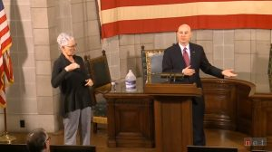 Video Highlights from Gov. Ricketts Thursday Media Briefing