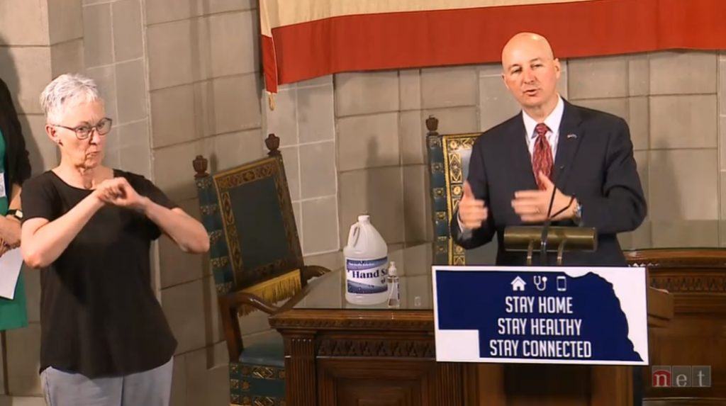 Ricketts Provides Tuesday Update on COVID Response in Nebraska