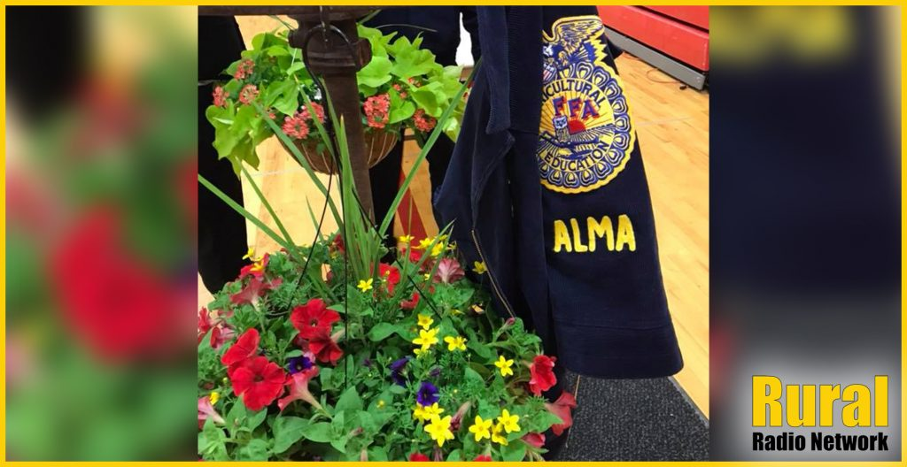 Alma FFA Chapter Offers Safe Shopping Options for Annual Plant Sale