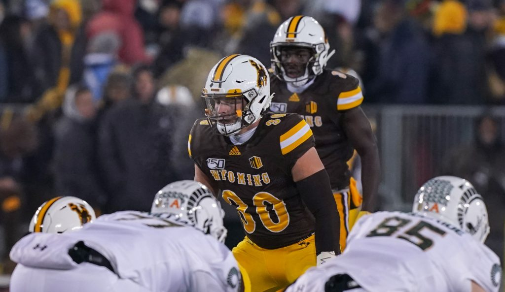Wyoming's Logan Wilson selected by Bengals in 3rd round
