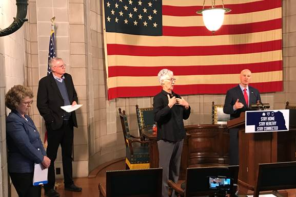 VIDEO: Gov. Ricketts, Food Bank Leaders Discuss Efforts to Enhance Food Security in Nebraska