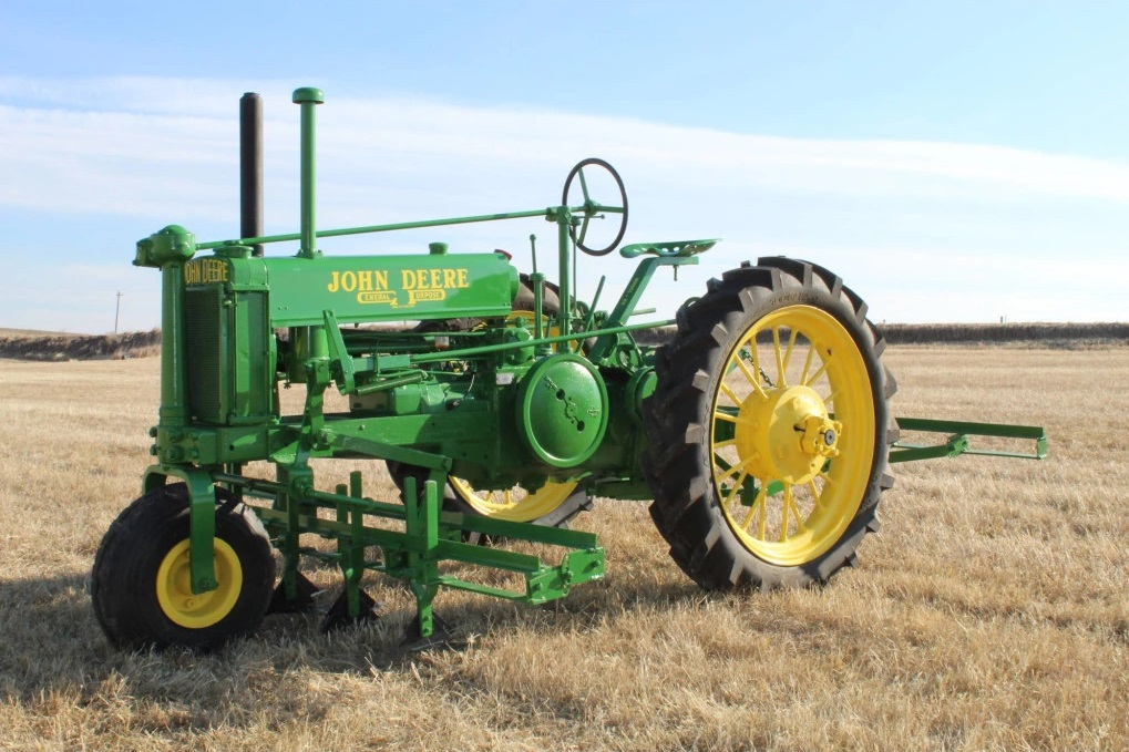 Central Nebraska Tractor Collector Donates Collection to High School