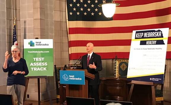 Gov. Ricketts Highlights the State's Work to Promote Safety and Well-Being at Long-Term Care Facilities