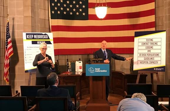 Gov. Ricketts Reviews Results of Business Response Survey, Highlights Nebraska's Increased COVID-19 Testing