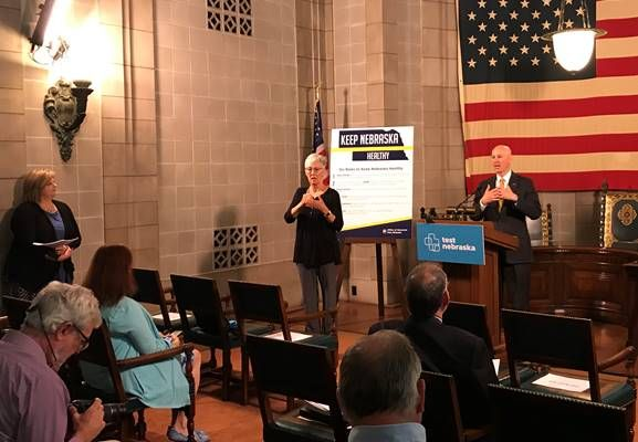 "Gov. Ricketts Announces Upcoming Test Nebraska Sites, Designates May as ""Mental Health Awareness Month"""