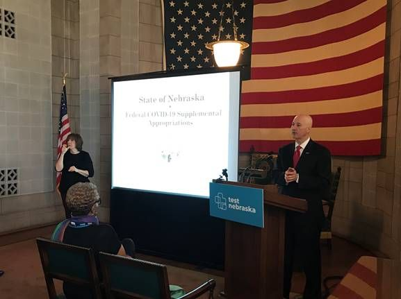 Gov. Ricketts Unveils Plan to Use Federal Funds to Get Nebraska Growing