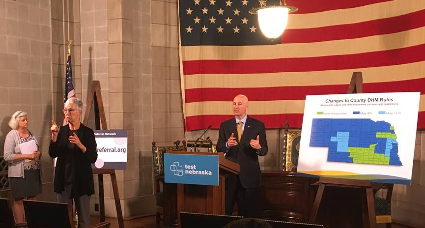Highlights from Gov. Ricketts Monday Media Briefing on COVID-19 Response