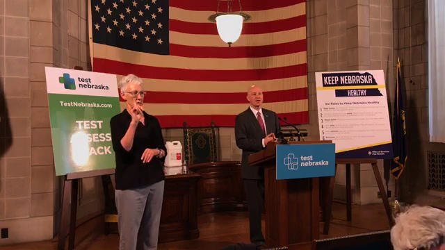 Ricketts Announces Scottsbluff TestNebraska Testing Site