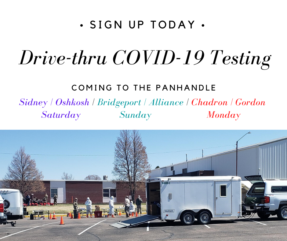 Free Drive-thru COVID-19 Testing Sites Announced