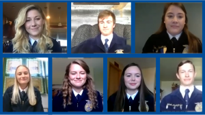 VIDEO: Nebraska FFA Selects Seven Students for 2020-2021 State Officer Team