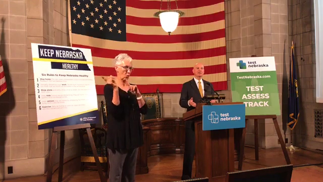 Gov. Ricketts Provides Wednesday Update on Nebraska's Response to COVID-19