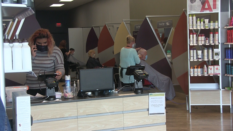 Patrons, Staff Happy as Some Panhandle Salons Resume Services with Restrictions