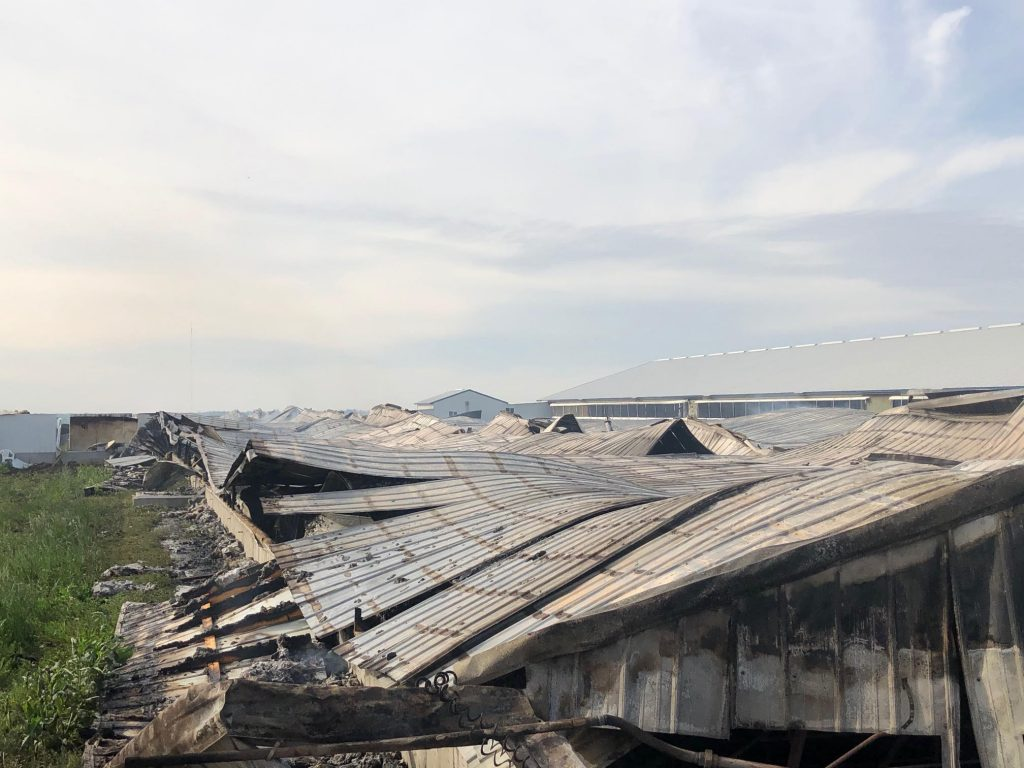 Wednesday Morning Fire at Hog Farm near Waco Requires Multiple Agencies to Respond