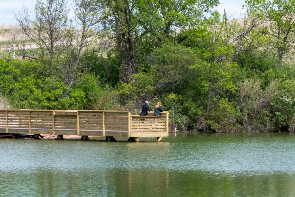 Fort Robinson Pond Project Boosts Fishing Opportunities