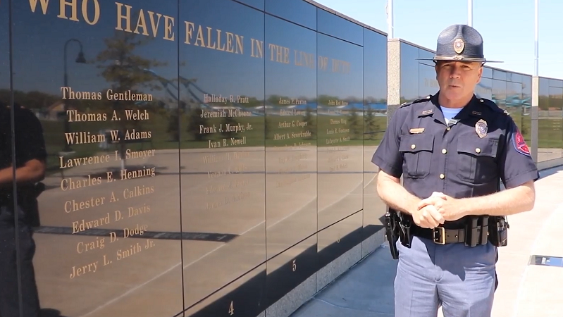 Trooper Jerry Smith Added to Law Enforcement Memorials