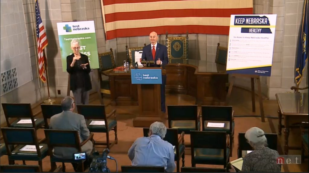 Gov. Ricketts Provides Tuesday Update on States Response to COVID-19
