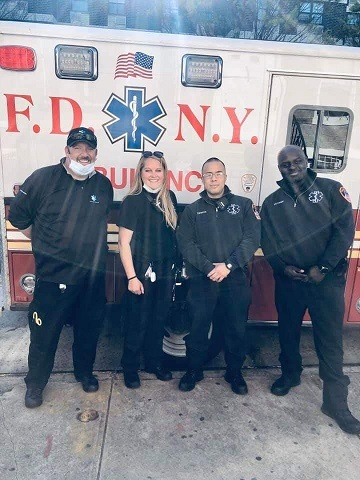 (AUDIO) Scribner Volunteer EMT's fight Coronavirus in NYC
