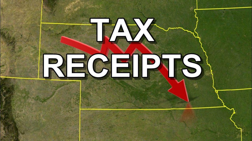 Nebraska tax revenue sharply below projections in April