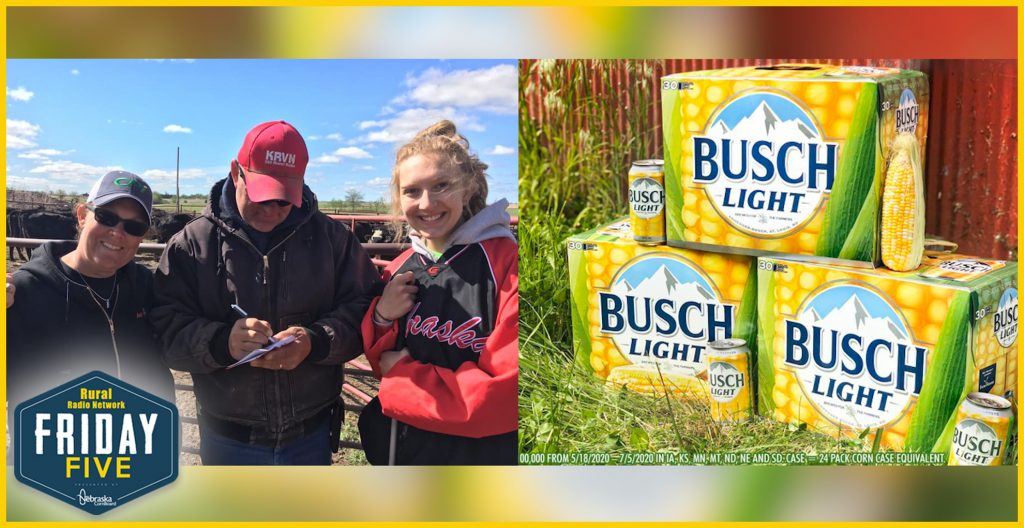 Nectar of the COBS to Help America's Farmers   Friday Five   May 8, 2020