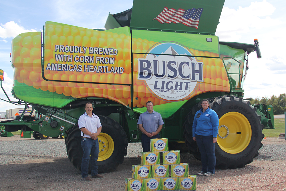 Local businesses partner to assist farmers