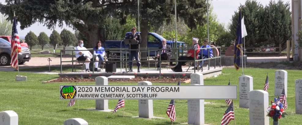 WATCH- 2020 Memorial Day Program at Fairview Cemetery