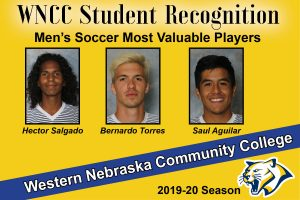 Torres, Salgado, Aguilar named men's soccer MVPs