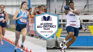 Battershell, Cornelio named to CoSIDA All-District Teams