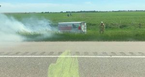 Occupants of Vehicle Fire on I-80 Near York Evacuate Safely