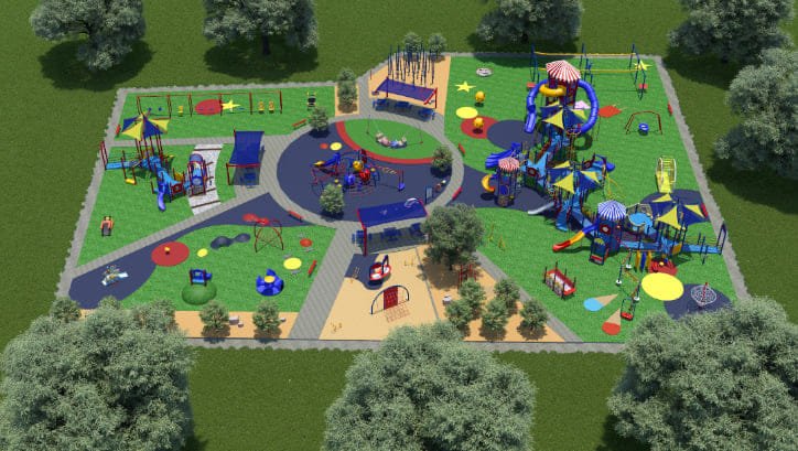 All-Inclusive Playground Coming to Mincks Park in York
