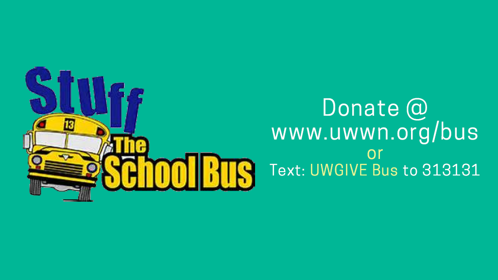 United Way Stuff the Bus Goes Virtual for 2020