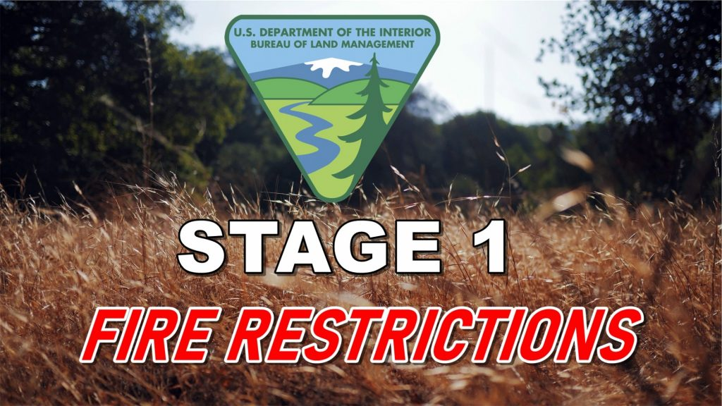 BLM Places Stage 1 Fire Restrictions in Goshen and Natrona Counties