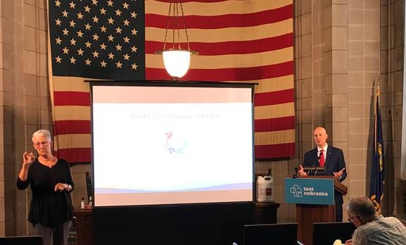 Gov. Ricketts Highlights Community CARES Initiative, Encourages Immunization
