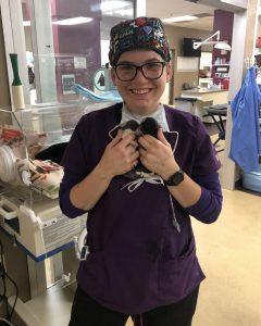 Vet Tech is living her dream in emergency care