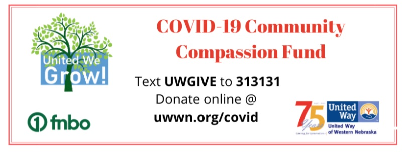 United Way Announces Second Round Recipients of Community Compassion Fund Grants