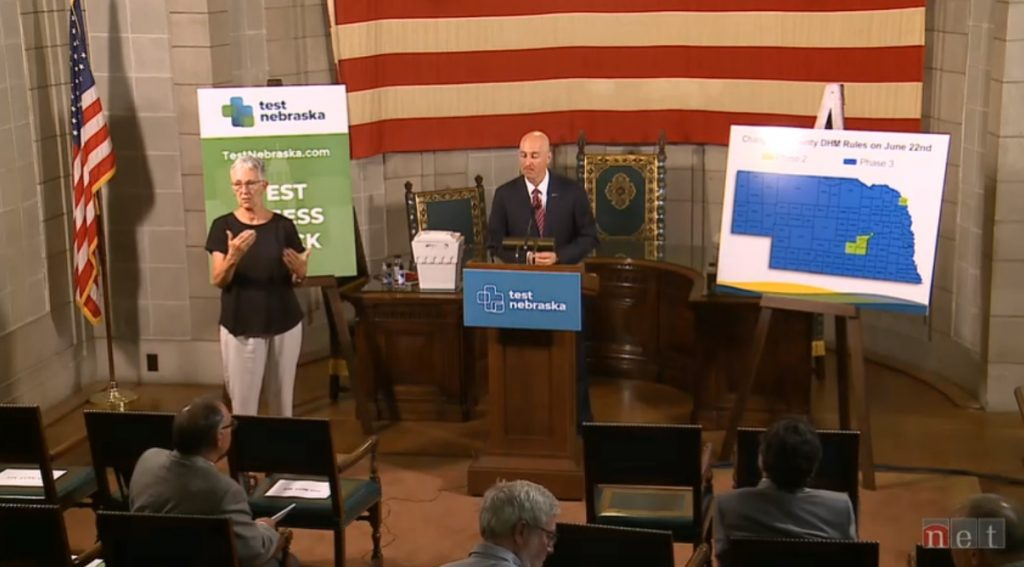 Gov. Ricketts Announces More Relaxation of DHMs Beginning Next Monday