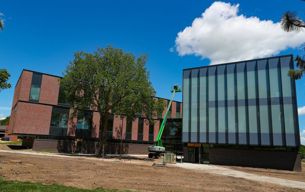 With move-in underway, Discovery Hall project right on schedule