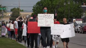 Dozens Attend Scottsbluff Marches Against Racism and Police Brutality