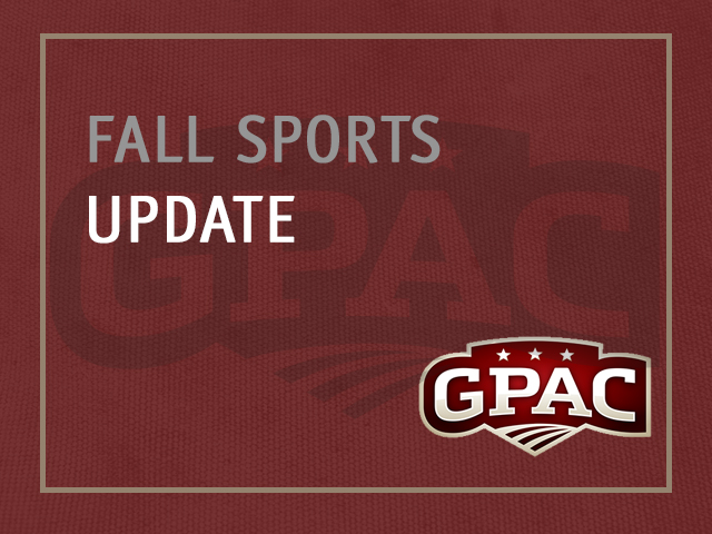 GPAC Releases Information on Fall 2020 Athletics