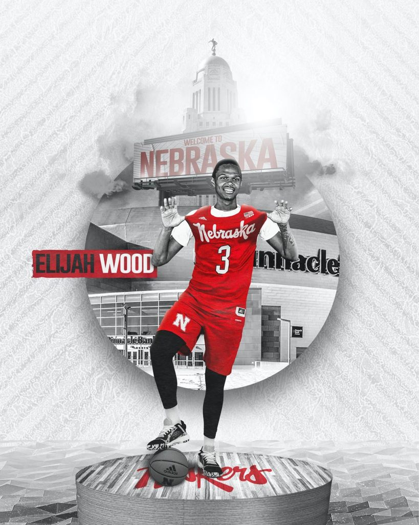 Huskers add Elijah Wood to basketball roster