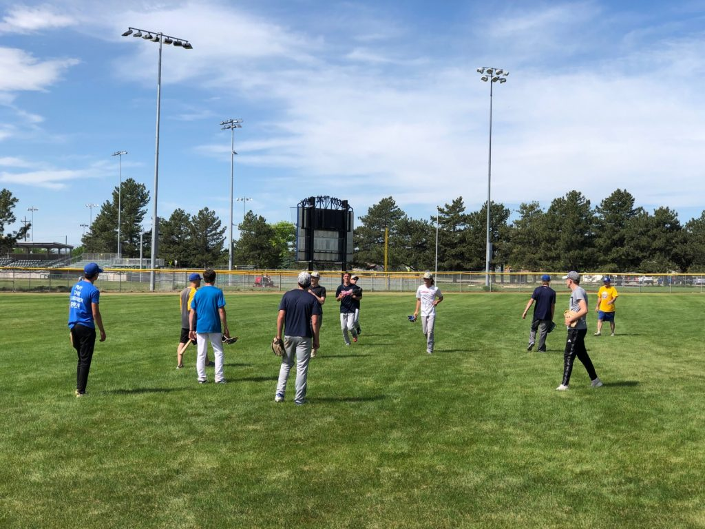 (Audio) Legion baseball practice underway for WESTCO and Gering