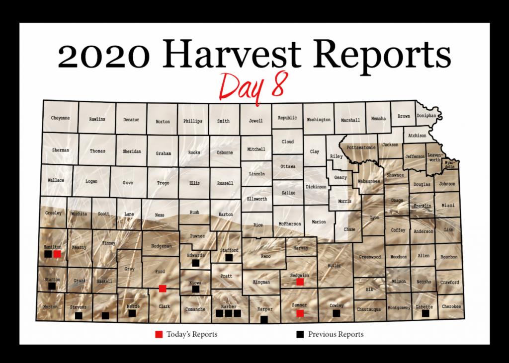 Kansas Wheat Harvest Report